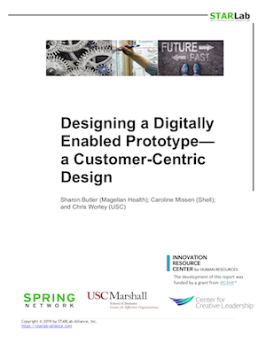 Designing a Digitally Enabled Prototype— a Customer-Centric Design