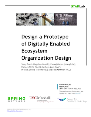 Design a Prototype of Digitally Enabled Ecosystem Organization Design